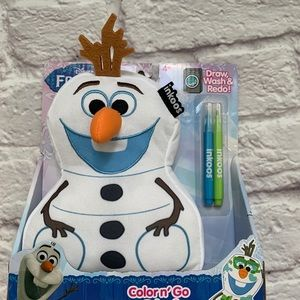Frozen Olaf color and wash plush